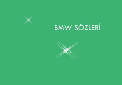 BMW sözleri 2019